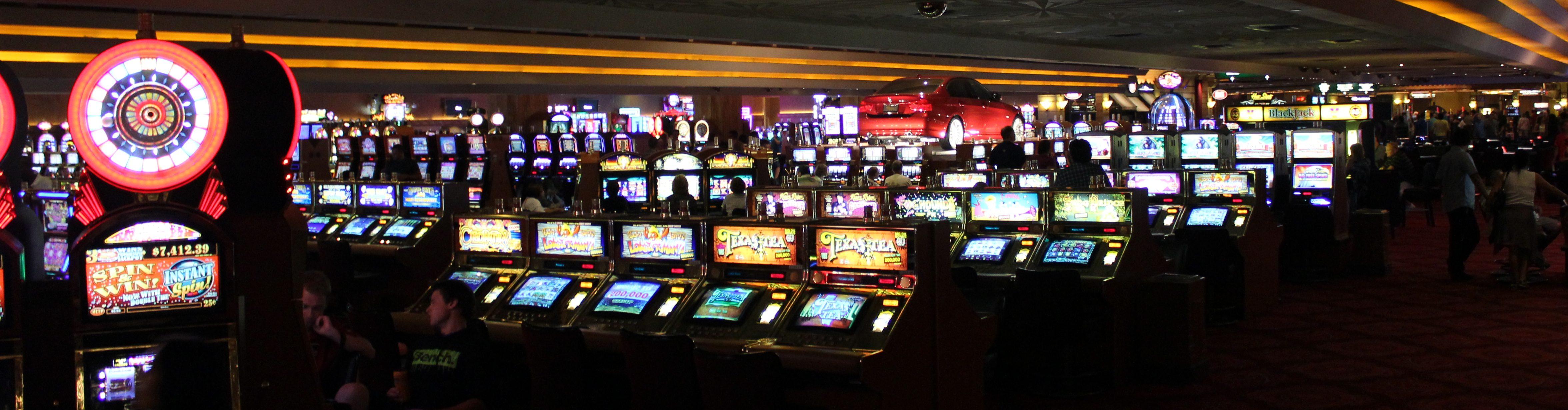 Casino Floor, Slot Machines, Spielautomaten, Gambling,