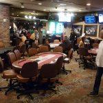 historischer Poker Room im Binion's auf der Fremont Street / Downtown